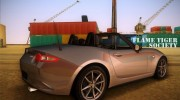 Mazda MX5 Roadster 2015 for GTA Vice City miniature 2