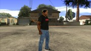 CJ в футболке (Crow) for GTA San Andreas miniature 3