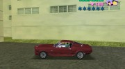 Ford Shelby GT500 for GTA Vice City miniature 3