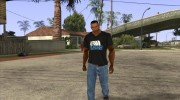 CJ в футболке (Radio X) for GTA San Andreas miniature 2