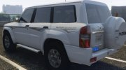 Nissan Patrol Super Safari turbo 2009 for GTA 5 miniature 3