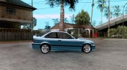 BMW M3 E36 1997 for GTA San Andreas miniature 5