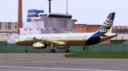 Airbus A321-200 Airbus House Colors для GTA San Andreas миниатюра 4