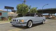 BMW M5 E34 Coupe for GTA San Andreas miniature 3