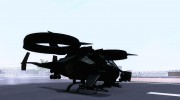 AT-99 Scorpion Gunship from Avatar для GTA San Andreas миниатюра 9