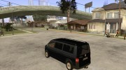 VW Transporter T5 2.5 TDI long для GTA San Andreas миниатюра 3
