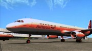Airbus A321-200 Airbus House Colors для GTA San Andreas миниатюра 17
