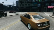 Volkswagen Jetta 2008 for GTA 4 miniature 3