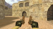 Dual Elites Узор мертвеца for Counter Strike 1.6 miniature 3