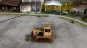 Bulldozer T 130 for GTA San Andreas miniature 2