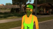 Female GTA Online Grove Style for GTA San Andreas miniature 5