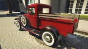 Ford A Pick-up 1930 for GTA 5 miniature 12