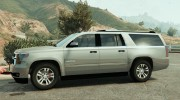 2015 Chevrolet Suburban (Unlocked) Final for GTA 5 miniature 2