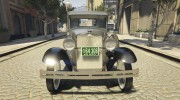 Ford A Pick-up 1930 for GTA 5 miniature 6