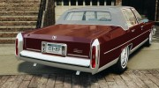 Cadillac Fleetwood Brougham Delegance 1986 для GTA 4 миниатюра 3