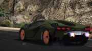 Lamborghini Sian for GTA 5 miniature 6