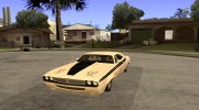 Dodge Challenger Speed 1971 for GTA San Andreas miniature 1