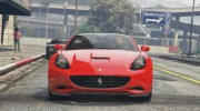 2012 Ferrari California BETA for GTA 5 miniature 6