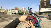 M4A1-S - Hyper Beast Edition for GTA 5 miniature 2