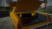Ford Custom 500 (4-door) 1975 Taxi for GTA Vice City miniature 8
