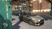 Ford Focus RS для GTA 4 миниатюра 1