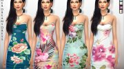 Summer Dreams Dress for Sims 4 miniature 1