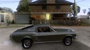 Ford Mustang 1967 for GTA San Andreas miniature 5
