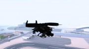 AT-99 Scorpion Gunship from Avatar для GTA San Andreas миниатюра 5