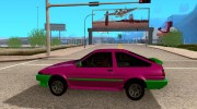 Toyota Corolla AE86 for GTA San Andreas miniature 2