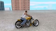Race chopper by DMC for GTA San Andreas miniature 5