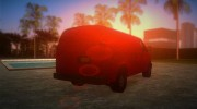 Chevrolet Express Cargo 2005 for GTA Vice City miniature 3