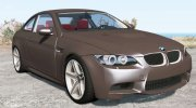 BMW M3 coupe (E92) 2007 for BeamNG.Drive miniature 1