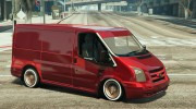 Ford Transit Low Rider BETA for GTA 5 miniature 4