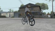 Leader Kagero Fixed Gear Bike для GTA San Andreas миниатюра 4