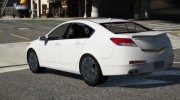2009 Acura TL for GTA 5 miniature 3