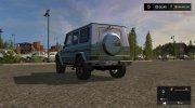Mercedes-Benz G65 AMG for Farming Simulator 2017 miniature 4