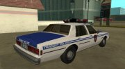 Chevrolet Caprice 1987 New York Transit Police for GTA San Andreas miniature 2