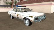 AMC Matador 1971 Hazzard County Sheriff for GTA San Andreas miniature 2