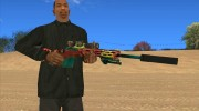 Sniper Rifle Grunge for GTA San Andreas miniature 1