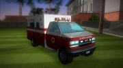 Ambulance from GTA IV for GTA Vice City miniature 2