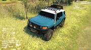 Toyota FJ Cruiser 2011 Custom v1.0 for Spintires DEMO 2013 miniature 1