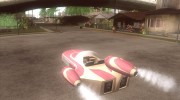 X34 Landspeeder for GTA San Andreas miniature 3