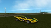 McLaren P1 GTR 2015 for GTA Vice City miniature 4