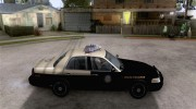 Ford Crown Victoria Florida Police for GTA San Andreas miniature 5