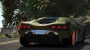 Lamborghini Sian for GTA 5 miniature 3