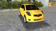 Toyota Yaris for GTA Vice City miniature 2