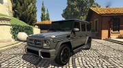 2013 Mercedes-Benz G65 AMG v1.2 for GTA 5 miniature 1