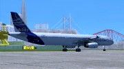 Airbus A321-200 Airbus House Colors для GTA San Andreas миниатюра 5
