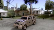 FBI Truck from Fast Five для GTA San Andreas миниатюра 1