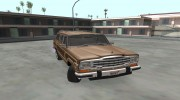 Jeep Grand Wagoneer 1986 for GTA San Andreas miniature 2